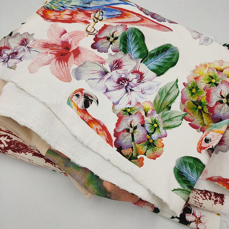 纯棉数码印花图案