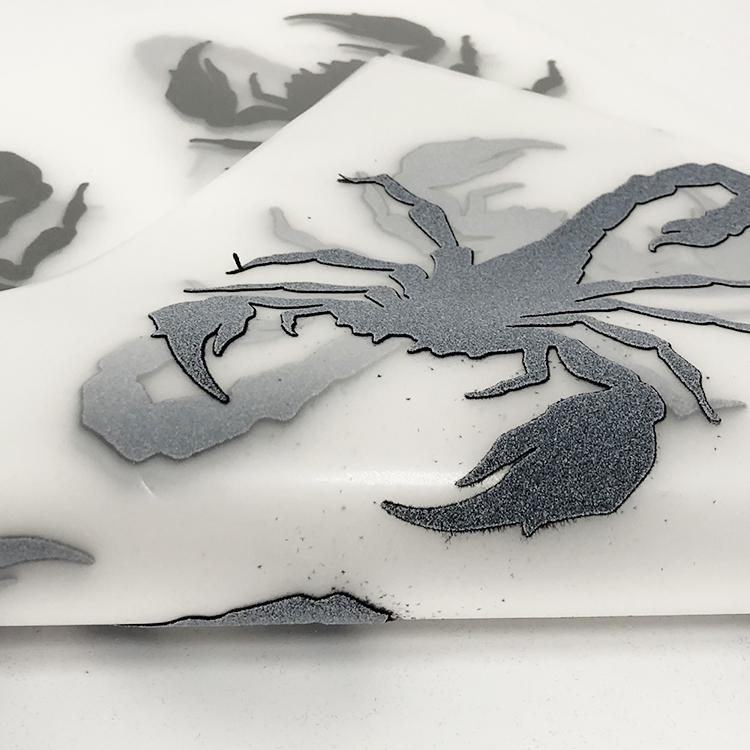 3D厚版植绒烫画标